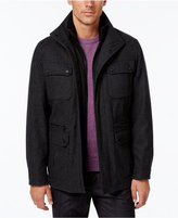 MICHAEL Michael Kors Men's Wool-Blend Field Coat with Attached Bib