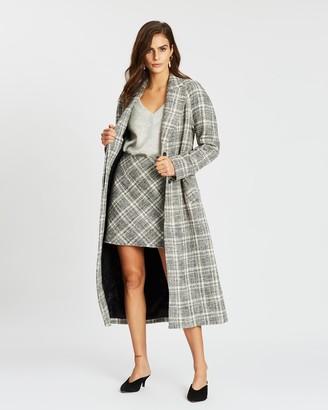 SABA Marcelle Longline Coat