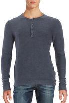 Strellson Lennon Cotton Henley Shirt