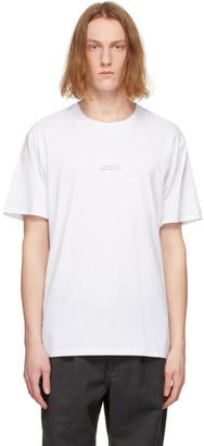 Saturdays NYC White Gotham Chest T-Shirt