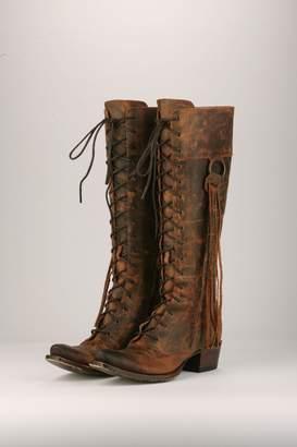 Lane Boots Boho Lace-Up Boots