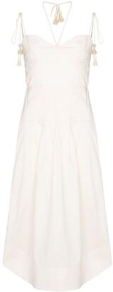 Johanna Ortiz Aromatic Essence cotton midi dress