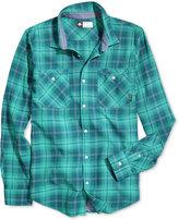 Lrg Men's Innerspeaker Plaid Shirt