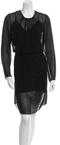 Megan Park Cornelli Evening Silk Dress w/ Tags