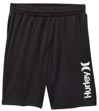 Hurley DRI-FIT Logo Shorts (Little Boys & Big Boys)