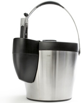 Steel Ice Bucket with Tongs