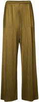 Simon Miller pleated trousers - women - Triacetate/Polycarbonite - 4