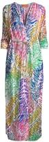 Missoni Mare Palm Print Wrap Coverup