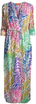 Missoni Mare Palm Print Wrap Cover-Up