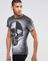 Religion Cloudy Skull Crew Neck T-shirt