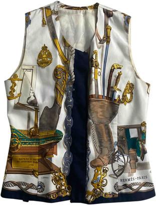 Hermes Multicolour Silk Knitwear