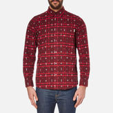 Carhartt Men's Long Sleeve Carlos Origin Shirt Carlos Check Chianti