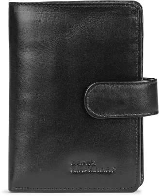 Derek Alexander Three-Part Leather Wallet