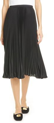 Polo Ralph Lauren Pleated Georgette Skirt