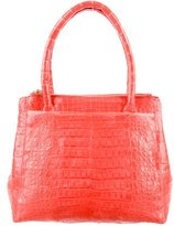 Nancy Gonzalez Double Zip Work Tote