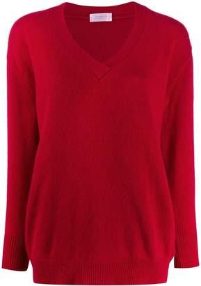 Zanone v-neck plain jumper