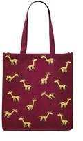Forever 21 FOREVER 21+ Giraffe Print Eco Tote Bag