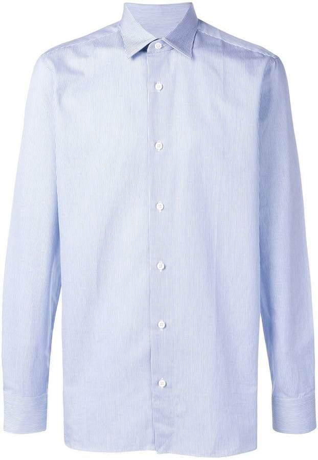 Ermenegildo Zegna pinstripe shirt
