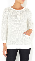 Grey Textured Jumper