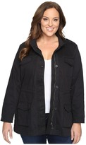 Lucky Brand Plus Size Core Military Jacket