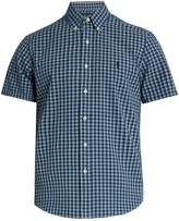 Polo Ralph Lauren Short-sleeved checked cotton shirt