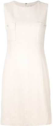 Chanel Pre Owned Patch Pocket Shift Dress