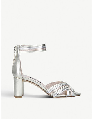 Nine West Pearl faux-leather heeled sandals
