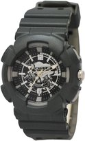 Ed Hardy Men's Striker SR-SR Grey Polyurethane Quartz Watch with Dial