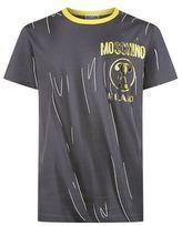 Moschino Crease Print T-shirt
