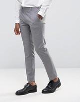 Burton Menswear Slim Texture Suit Trousers