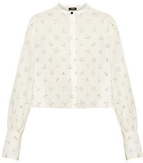 48d1c9f6 Crop Top Shirts Button Down - ShopStyle