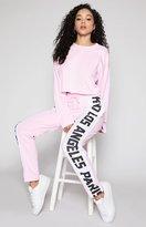 KENDALL + KYLIE Kendall & Kylie City Trim Jogger Pants