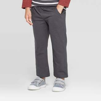 Cat & Jack Toddler Boys' Light Weight Pull-On Pants Charcoal