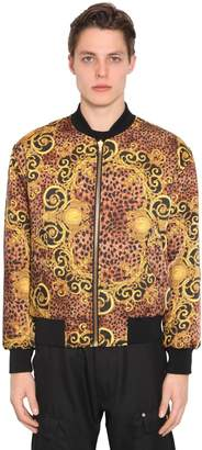 Versace REVERSIBLE PRINTED BAROQUE TECH BOMBER