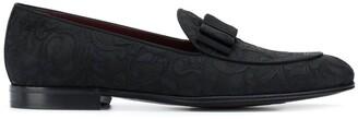 Dolce & Gabbana baroque jacquard loafers