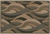 Couristan Seagrass Wave Indoor Outdoor Rug