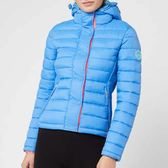 Superdry Women's Fuji Slim Double Zip Hoody