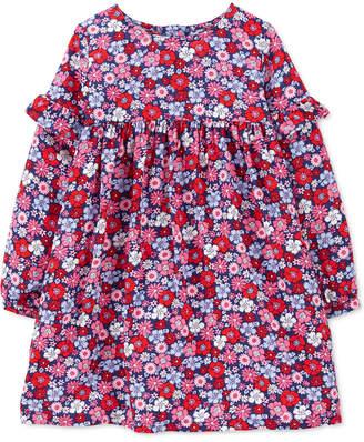 Carter's Carter Toddler Girls Floral-Print Dress