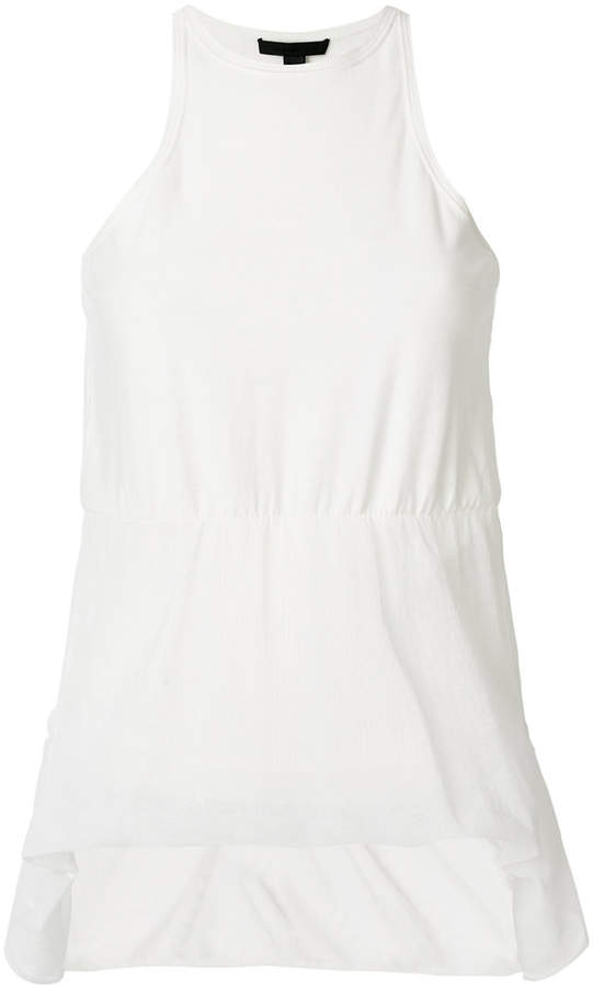 Alexander Wang sheer panel tank top