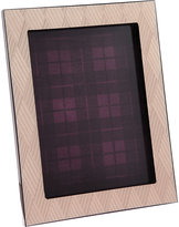"Barneys New York Basket-Weave 5"" x 7"" Picture Frame"