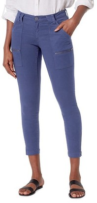 Joie Park Mid-Rise Zippered Skinny Jeans