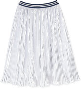 Tommy Hilfiger Metallic Pleated Long Skirt, Big Girls (7-16)