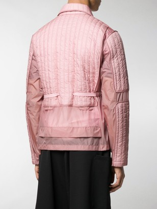 Craig Green Quilted Fitted Jacket