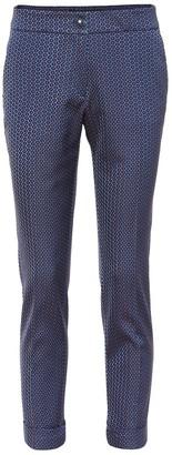 Etro Jacquard straight-leg pants