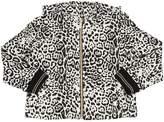 Roberto Cavalli Leopard Print Cotton Sweatshirt