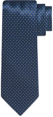 Stefano Ricci Geometric Square Printed Silk Tie
