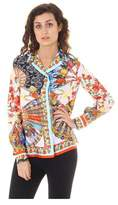 Dolce & Gabbana Carretto Siciliano Ladies Shirt Long Sleeve.