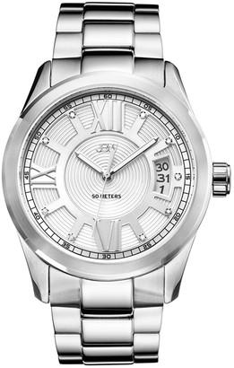 JBW Men's Bond Stainless Steel Diamond Watch, 44mm - 0.09 ctw