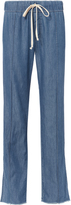 Enza Costa Chambray Drawstring Pants
