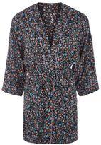 Ditsy floral print robe
